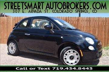 2015 FIAT 500c for sale in Colorado Springs, CO