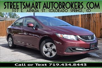 2013 Honda Civic for sale in Colorado Springs, CO