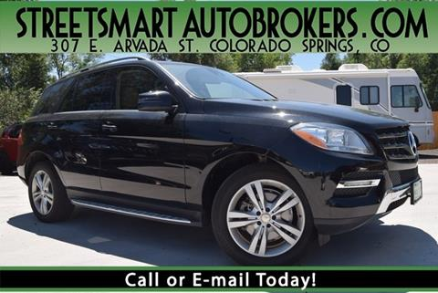 Exceptional 2015 Mercedes Benz M Class For Sale In Colorado Springs, CO