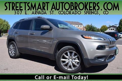 2018 Jeep Cherokee for sale in Colorado Springs, CO