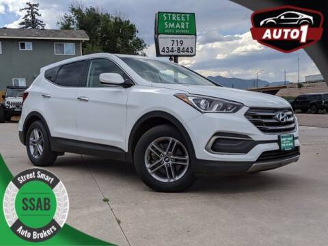 2018 Hyundai Santa Fe Sport for sale at Street Smart Auto Brokers in Colorado Springs CO