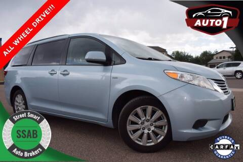 2017 Toyota Sienna for sale at Street Smart Auto Brokers in Colorado Springs CO