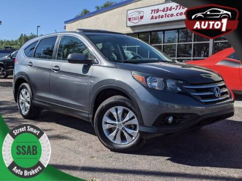 2013 Honda CR-V for sale at Street Smart Auto Brokers in Colorado Springs CO