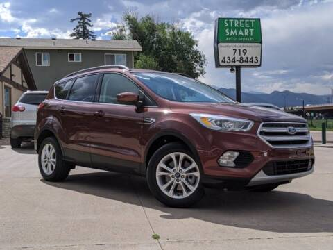 2018 Ford Escape for sale at Street Smart Auto Brokers in Colorado Springs CO