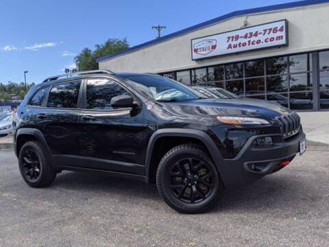 2016 Jeep Cherokee for sale at Street Smart Auto Brokers in Colorado Springs CO