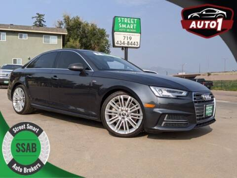 2017 Audi A4 for sale at Street Smart Auto Brokers in Colorado Springs CO
