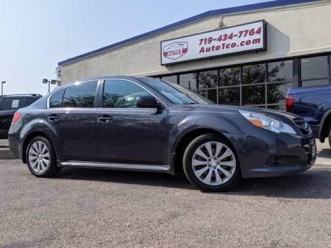 2012 Subaru Legacy for sale at Street Smart Auto Brokers in Colorado Springs CO