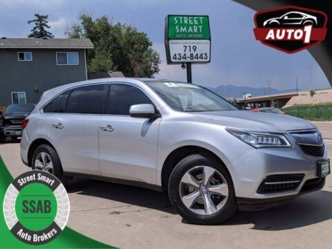 2014 Acura MDX for sale at Street Smart Auto Brokers in Colorado Springs CO