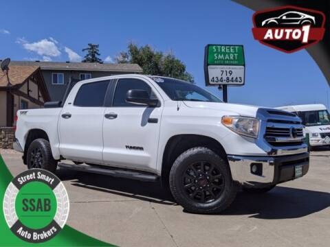 2017 Toyota Tundra for sale at Street Smart Auto Brokers in Colorado Springs CO