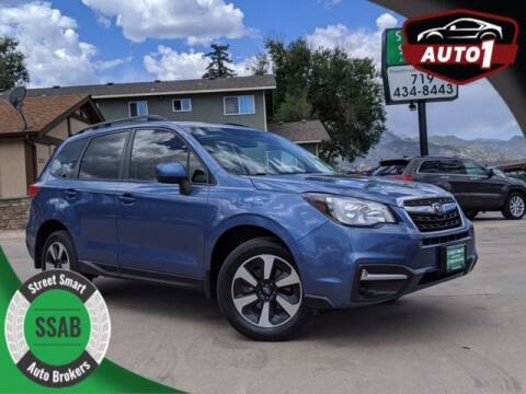 2017 Subaru Forester for sale at Street Smart Auto Brokers in Colorado Springs CO