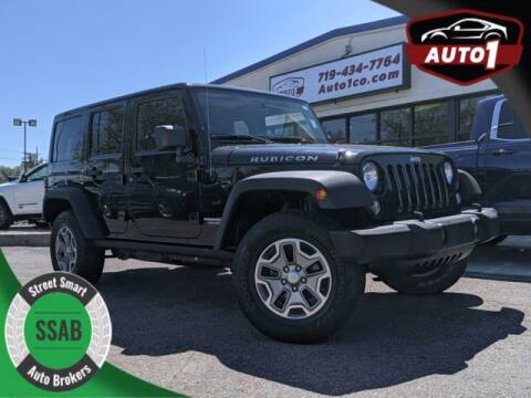 2014 Jeep Wrangler Unlimited for sale at Street Smart Auto Brokers in Colorado Springs CO