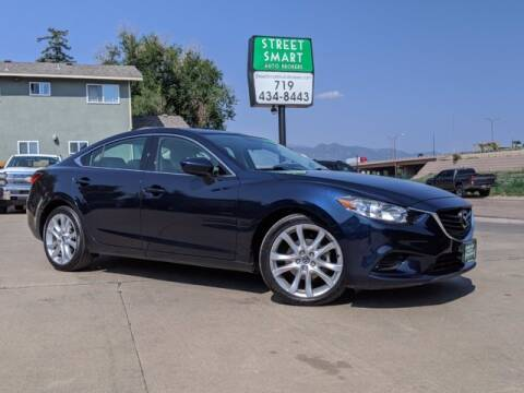 2016 Mazda MAZDA6 for sale at Street Smart Auto Brokers in Colorado Springs CO