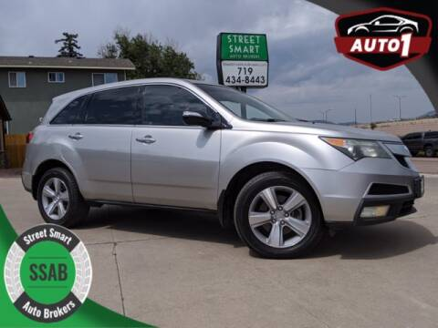 2011 Acura MDX for sale at Street Smart Auto Brokers in Colorado Springs CO