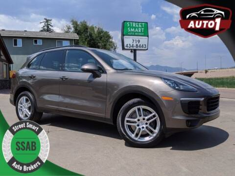 2016 Porsche Cayenne for sale at Street Smart Auto Brokers in Colorado Springs CO