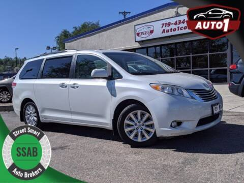 2011 Toyota Sienna for sale at Street Smart Auto Brokers in Colorado Springs CO