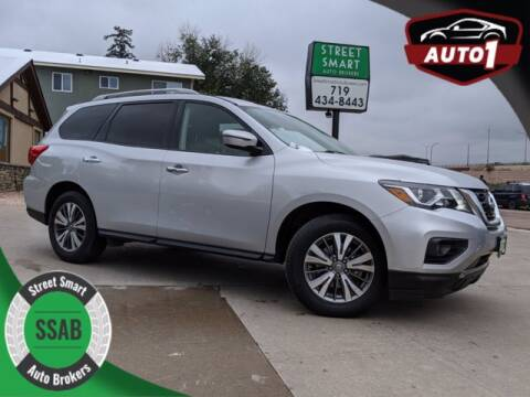 2018 Nissan Pathfinder for sale at Street Smart Auto Brokers in Colorado Springs CO