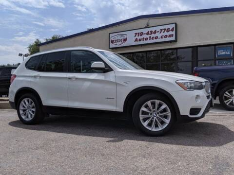 2016 BMW X3 for sale at Street Smart Auto Brokers in Colorado Springs CO
