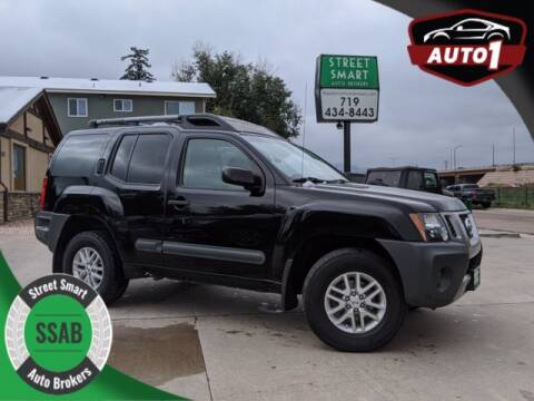 2014 Nissan Xterra for sale at Street Smart Auto Brokers in Colorado Springs CO