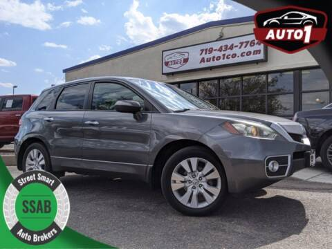 2010 Acura RDX for sale at Street Smart Auto Brokers in Colorado Springs CO