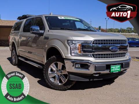 2018 Ford F-150 for sale at Street Smart Auto Brokers in Colorado Springs CO