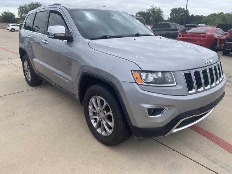 2015 Jeep Grand Cherokee for sale at Street Smart Auto Brokers in Colorado Springs CO