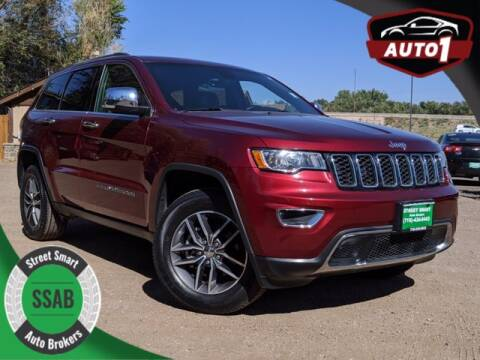 2018 Jeep Grand Cherokee for sale at Street Smart Auto Brokers in Colorado Springs CO