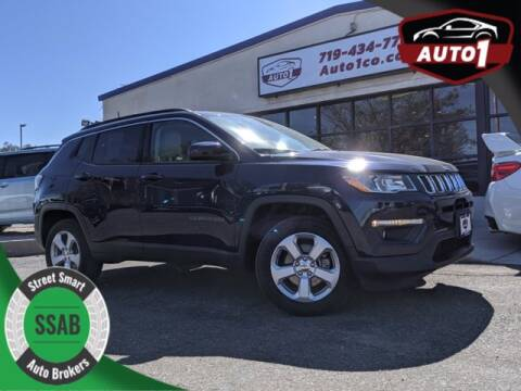 2018 Jeep Compass for sale at Street Smart Auto Brokers in Colorado Springs CO