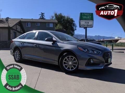 2018 Hyundai Sonata for sale at Street Smart Auto Brokers in Colorado Springs CO