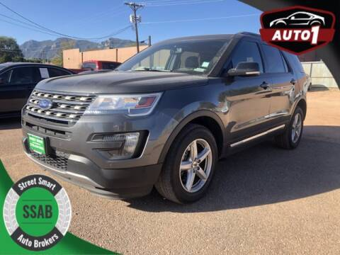 2016 Ford Explorer for sale at Street Smart Auto Brokers in Colorado Springs CO