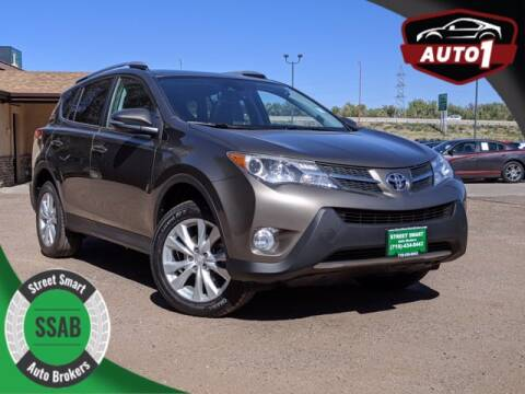 2014 Toyota RAV4 for sale at Street Smart Auto Brokers in Colorado Springs CO
