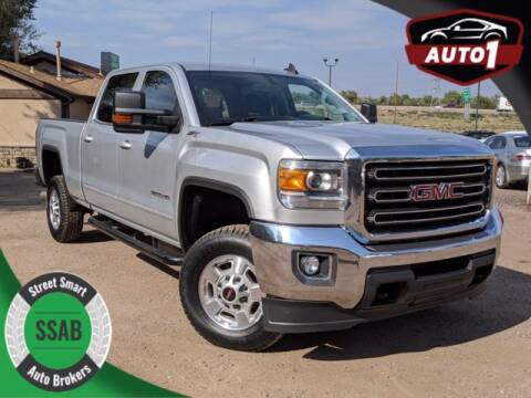 2015 GMC Sierra 2500HD for sale at Street Smart Auto Brokers in Colorado Springs CO