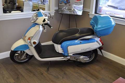 2012 Kymco Like200i for sale in 1304 Lisbon St. Lewiston, ME