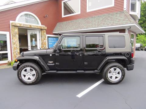 2010 Jeep Wrangler Unlimited for sale in Auburn, ME
