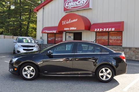 2012 Chevrolet Cruze for sale in 797 Sabattus St. Lewiston, ME
