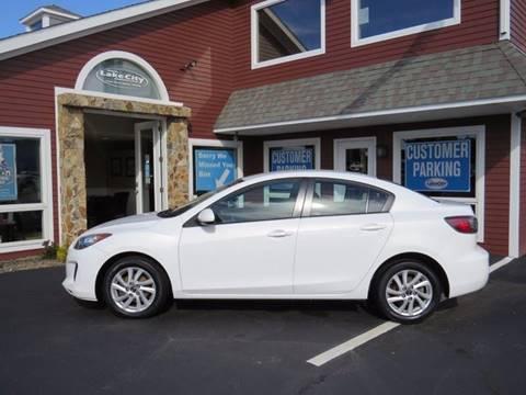 2013 Mazda MAZDA3 for sale in Auburn, ME