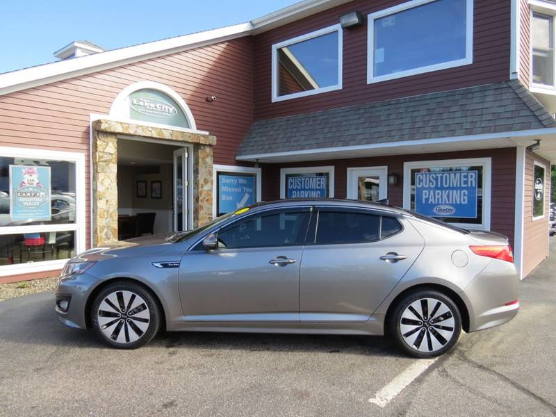 2012 Kia Optima SX Turbo 4dr Sedan 6A   Auburn ME
