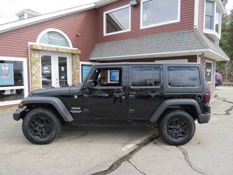 2014 Jeep Wrangler Unlimited for sale in Auburn, ME