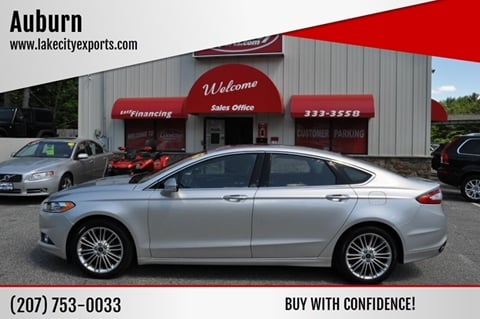 2016 Ford Fusion for sale in Lewiston, ME