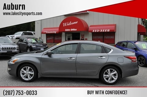 2015 Nissan Altima for sale in Lewiston, ME