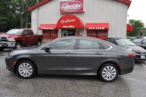 2015 Chrysler 200 for sale in Lewiston, ME