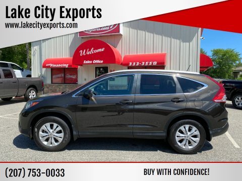 2014 Honda CR-V for sale at Lake City Exports - Lewiston in Lewiston ME