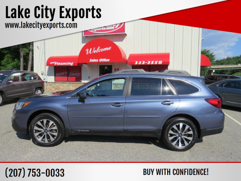 2017 Subaru Outback for sale at Lake City Exports - Lewiston in Lewiston ME