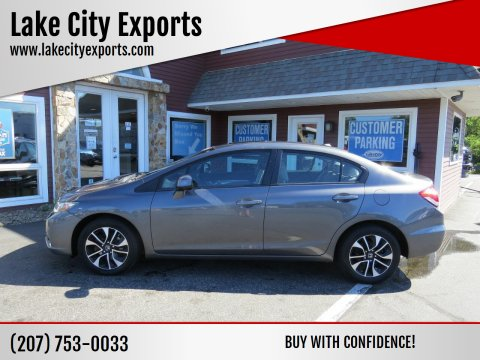 2013 Honda Civic for sale at Lake City Exports in Auburn ME