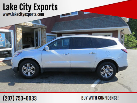 2015 Chevrolet Traverse for sale at Lake City Exports in Auburn ME