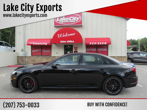 2018 Audi A4 for sale at Lake City Exports - Lewiston in Lewiston ME