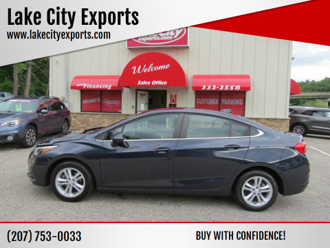 2016 Chevrolet Cruze for sale at Lake City Exports - Lewiston in Lewiston ME