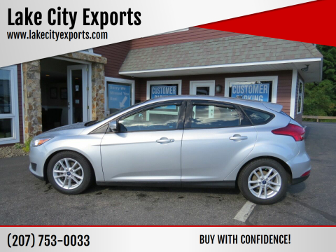 2017 Ford Focus for sale at Lake City Exports in Auburn ME