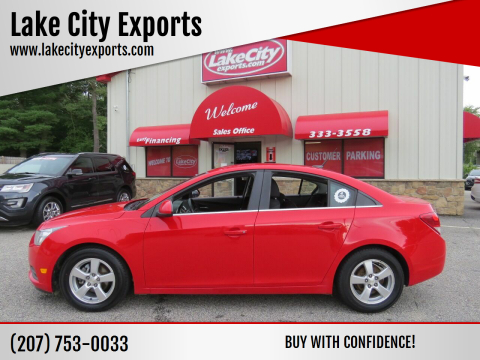 2014 Chevrolet Cruze for sale at Lake City Exports in Auburn ME