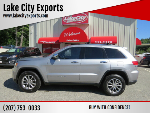 2015 Jeep Grand Cherokee for sale at Lake City Exports - Lewiston in Lewiston ME