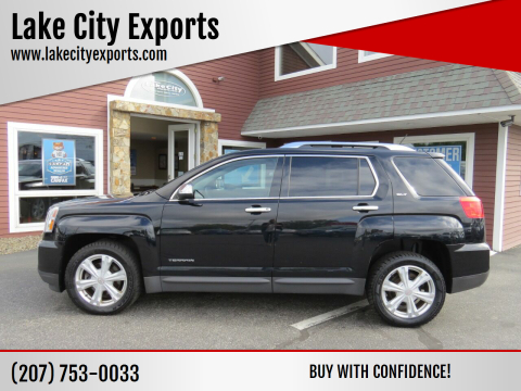 2016 GMC Terrain for sale at Lake City Exports in Auburn ME